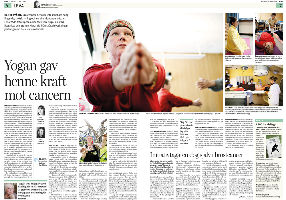 Yoga för cancerpatienter