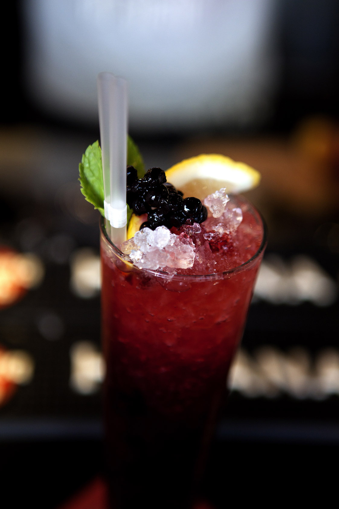 Virgin Blueberry Punch
